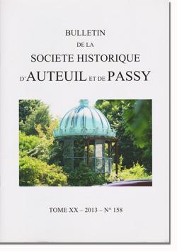 Bulletin Auteuil-Passy n°158