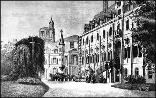 Couvent de L'Assomption et château de la Tuilerie
