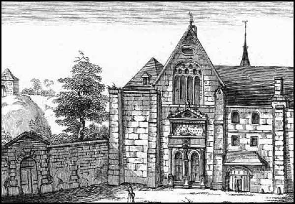 Église du couvent des Bonshommes