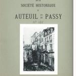Bulletin n° 126 de la Société d'Histoire d'Auteuil et de Passy