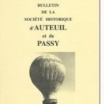 Bulletin n° 138 de la Société d'Histoire d'Auteuil et de Passy