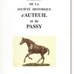 Bulletin n° 140 de la Société d'Histoire d'Auteuil et de Passy