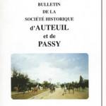 Bulletin n° 146 de la Société Historique et Archéologique d'Auteuil et de Passy