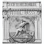 Histoire de la Société Historique d'Auteuil et de Passy