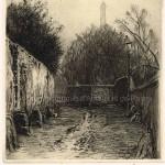La rue Berton en 1914