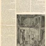 Souterrain de Passy. Travail de la glaise (février 1898).