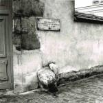 Rue Berton : borne posée en 1731