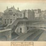 Station de Boulainvilliers. Vue prise du passage Singer.