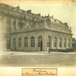 Station de l'avenue du Bois de Boulogne.