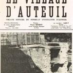 Restes de la gare d'Auteuil, bouvelard Montmorency.
