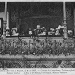 Edouard VII à Paris, 2 mai 1903. Courses de Longchamp