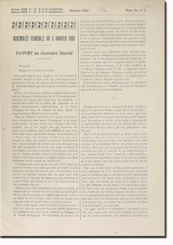 Bulletin n° 112 de la Société d'Histoire d'Auteuil et de Passy