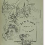 Bulletin n° 23 de la Société d'Histoire d'Auteuil et de Passy