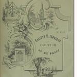 Bulletin n° 26 de la Société d'Histoire d'Auteuil et de Passy