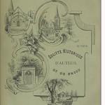 Bulletin n° 27 de la Société d'Histoire d'Auteuil et de Passy
