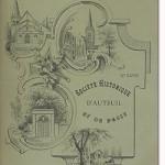 Bulletin n° 28 de la Société d'Histoire d'Auteuil et de Passy