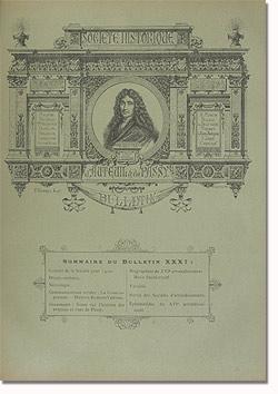 Bulletin n° 31 de la Société d'Histoire d'Auteuil et de Passy