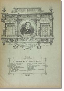 Bulletin n° 35 de la Société d'Histoire d'Auteuil et de Passy