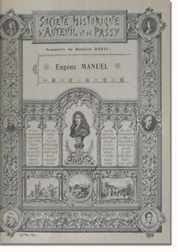 Bulletin n° 36 de la Société d'Histoire d'Auteuil et de Passy