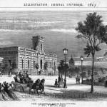 Le pavillon du dépôt des phares au Trocadéro (1867).