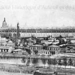 Vue de l'Exposition Universelle de 1867 prise du Trocadéro.
