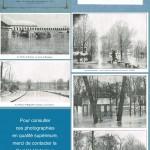 """""""Le Viaduc d'Auteuil, vue prise de Boulogne."""" / """"Bois de Boulogne. De la porte de Suresnes au champ de courses."""" / """"La pelouse de Bagatelle confondue avec la Seine."""" / """"Bois de Boulogne, maison du Conservateur"""". / """"Bois de Boulogne, Porte de Suresnes."""" / In Inondations de Janvier 1910, Paris et ses environs. Don de Mlle Armelin, Album n°5. Paris, A. Taride éditeur."""
