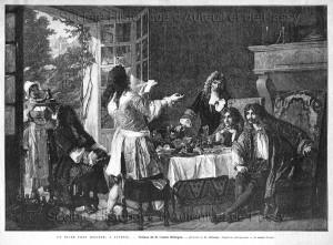 Jean-Baptiste POQUELIN, dit MOLIÈRE, auteur dramatique, né à Paris en 1622, mort à Paris en 1673