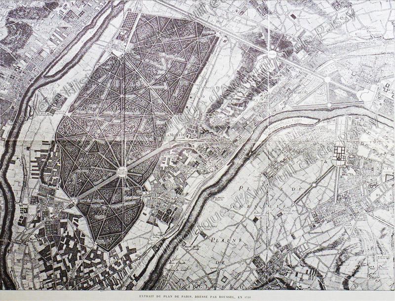 Plan Roussel - 1731