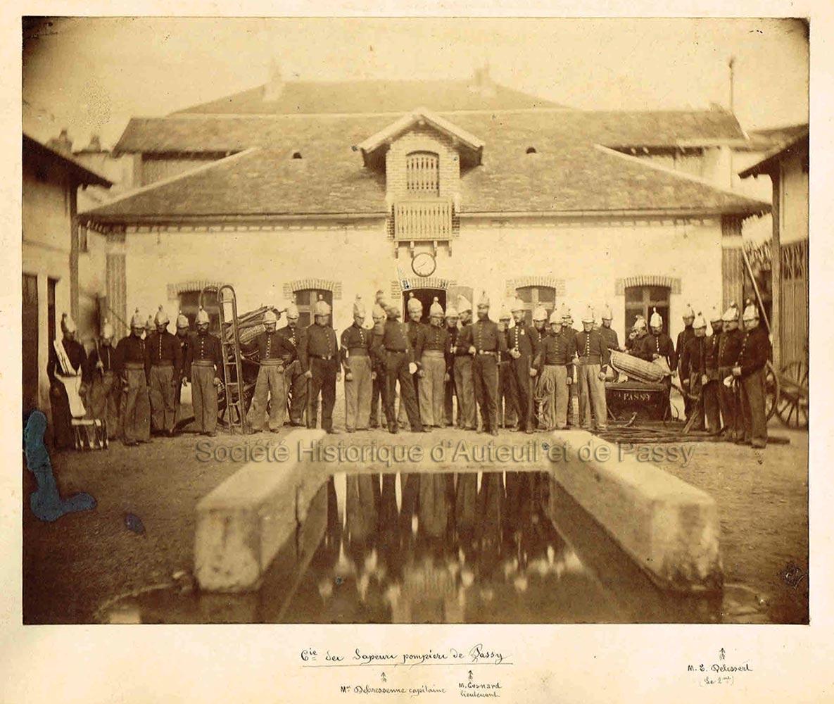 Compagnie des Sapeurs pompiers de Passy (1867 ?)