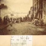 Manœuvre exécutée par la Compagnie des Sapeurs-pompiers de Passy en 1857.