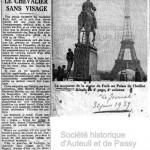 La statue de Foch au Trocadéro ?