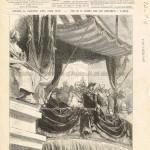 Paris, 1er mai 1878 : ouverture de l'Exposition universelle à la tribune du Trocadéro