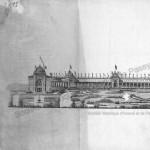 Façade du palais du Trocadéro du côté de la Seine (1)