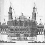 Façade du palais du Trocadéro du côté de la Seine (2)