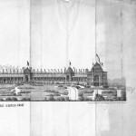 Façade du palais du Trocadéro du côté de la Seine (3)