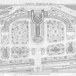 Exposition universelle de 1878 : plan général du palais et du parc du Trocadéro.
