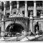 Fontaine du palais du Trocadéro.