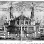 Façade du Palais du Trocadéro.