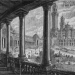 Le Palais du Trocadéro : détail de l'une des ailes.
