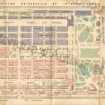 Plan complet de l'exposition universelle et internationale de 1878.