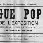 31 mars 1878 : catalogue populaire de l'Exposition universelle et internationale de 1878 (1/3).