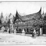 Le pavillon des indes néerlandaises.