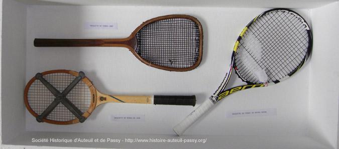 Du jeu de paume au tennis et au squash