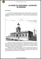 Le phare du Trocadéro, un devoir de mémoire