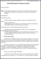 Lanterne du Trocadéro Compte-rendu de la réunion du 13-1-2015 à la Mairie de Paris