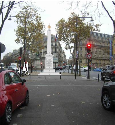 l'honneur de l'Abbé Raynal dans le XVIe arrondissement de Paris