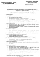 Compte rendu de la réunion du 03-3-2016 au CESE sur la lanterne du Trocadéro