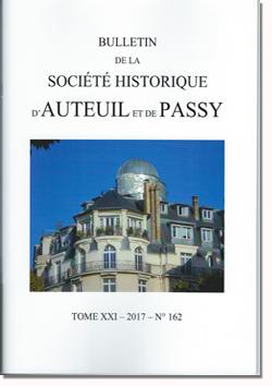 Bulletin Auteuil-Passy n° 162