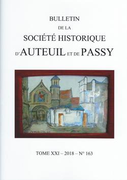 Bulletin Auteuil-Passy n° 163